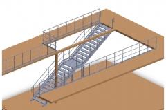 Escalier + Gardes corps Endel